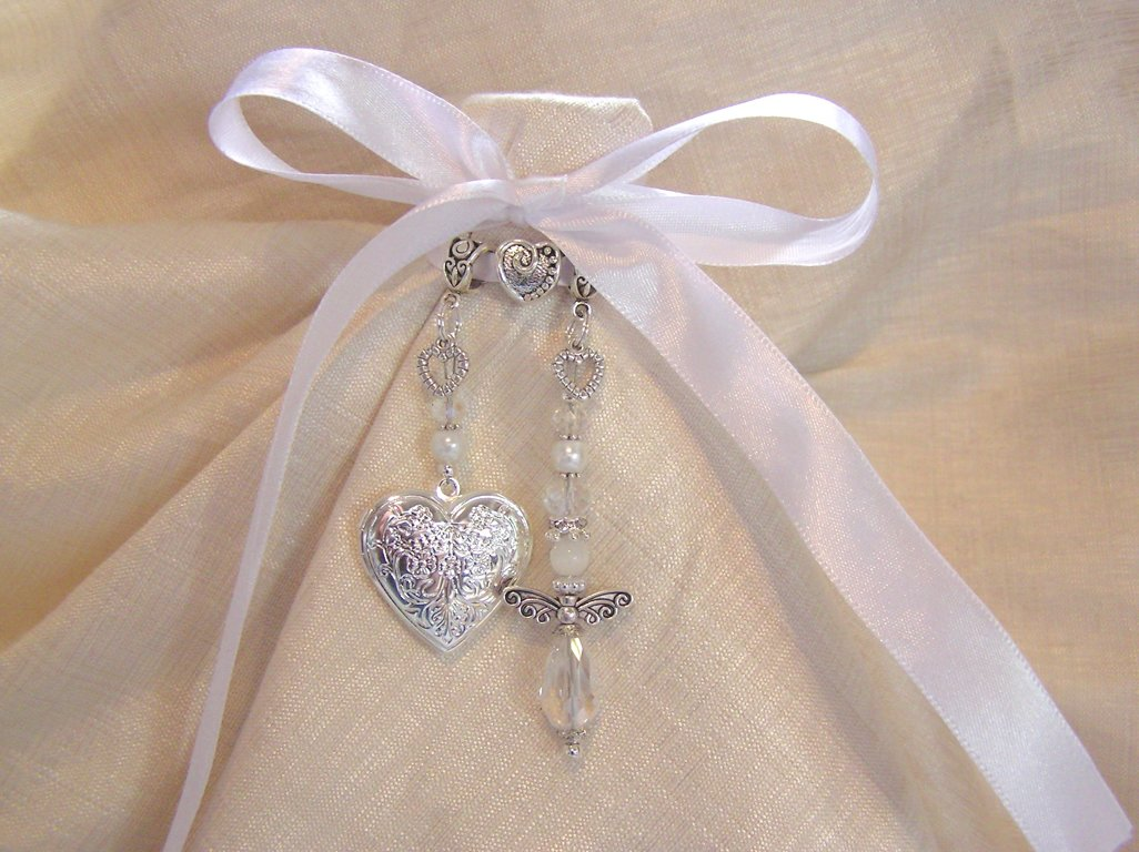 Crystal Angel Locket
