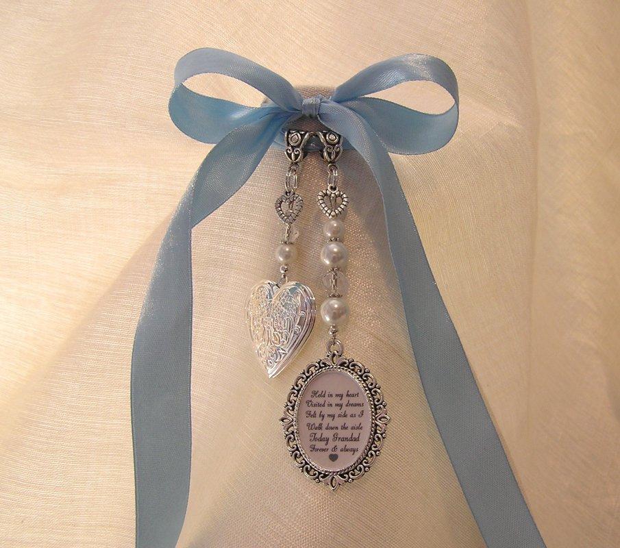Grandad memorial locket