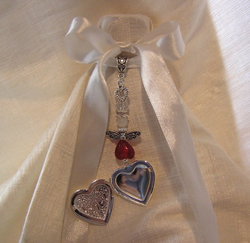 Red Angel locket