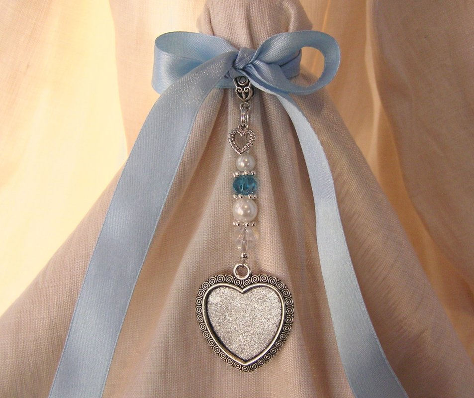 Blue accent Heart