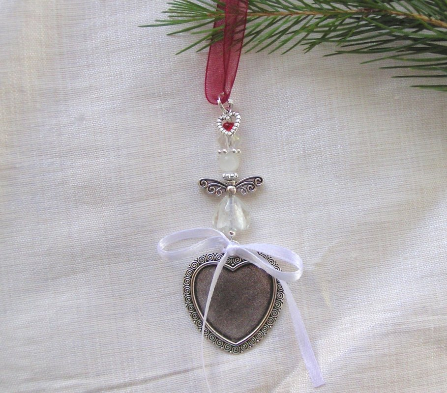 Christmas Tree Memory Charm Decoration