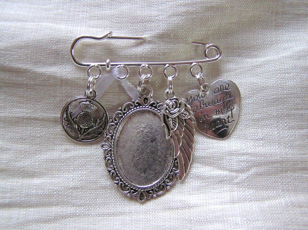 Scottish Wedding Kilt Pin