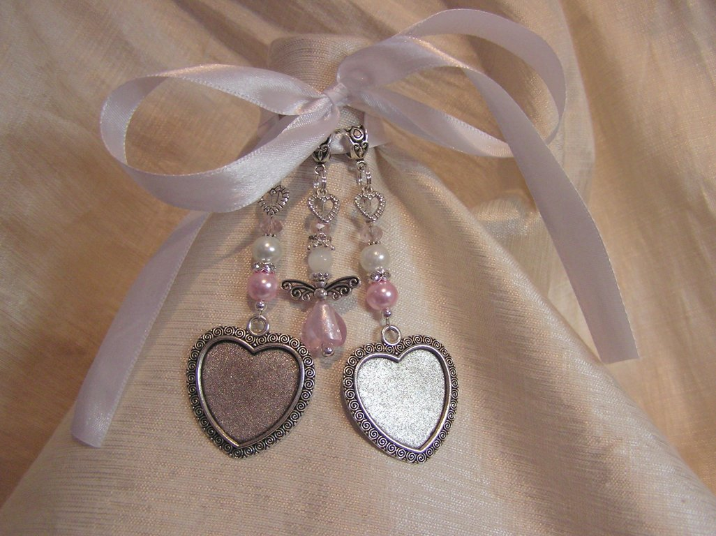 Pink Angel Hearts